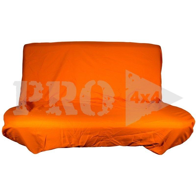 Грязезащитный чехол на заднее сиденье PRO-4x4 HARD оранжевый