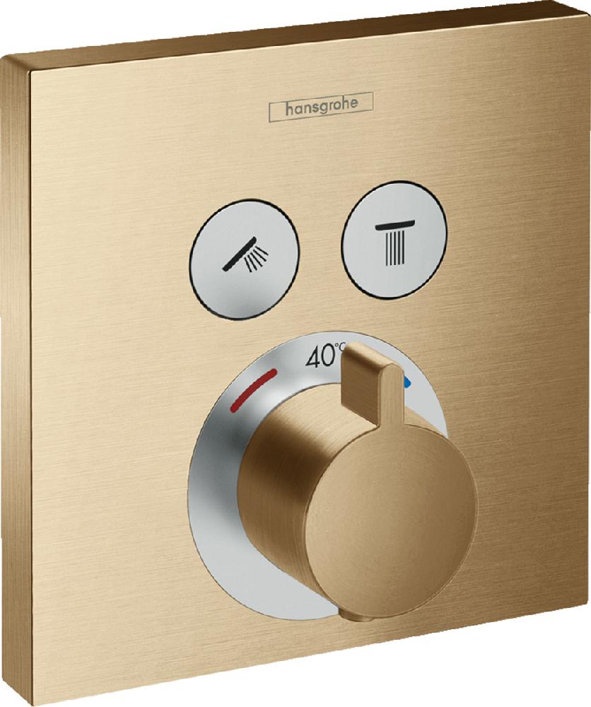 Термостат Hansgrohe ShowerSelect, 2 потребителя, CM, 15763140
