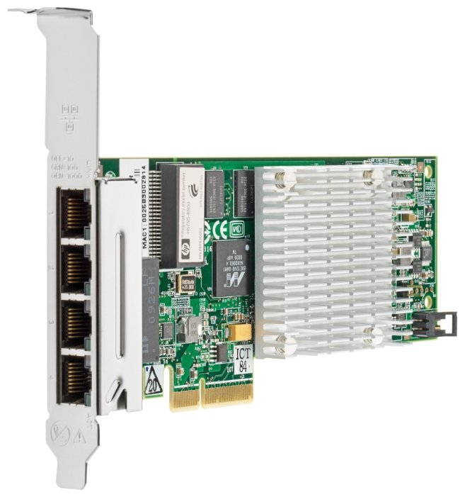 Адаптер Hp nc375t pcie 4pt gigabit Server (538696-b21)