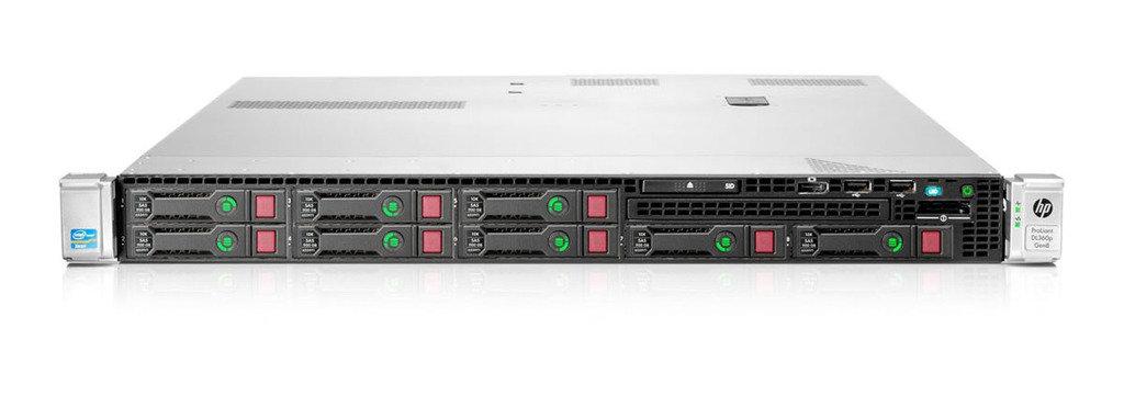 Сервер HP Proliant DL360p Gen8 E5-2640 Rack(1U) / Xeon6C 2.5GHz(15Mb) / 4x4GbR1D(LV) / P420iFBWC(1Gb / RAID 0 / 1 / 1+0 / 5 / 5+0) / noHDD(8)SFF / noDVD / iLO4St / 4x1GbFlexLOM / BBRK / 1xRPS460Plat+(2up) (646902-421)