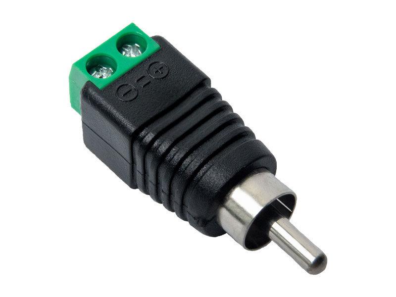 Разъем RCA Optimus штекер с клеммной колодкой (50шт) (Optimus)