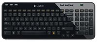 Клавиатура Logitech Keyboard K360 920-003095 black, wireless, USB, Rtl