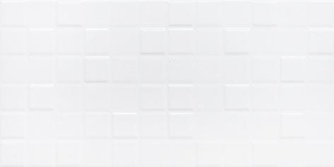 Керамическая плитка Астрид Плитка настенная белая 1041-0233 20х40