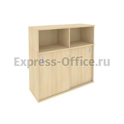 Рива Офисная мебель Metal system style Шкаф-купе приставной Б.ШК-3 1120x410x1098