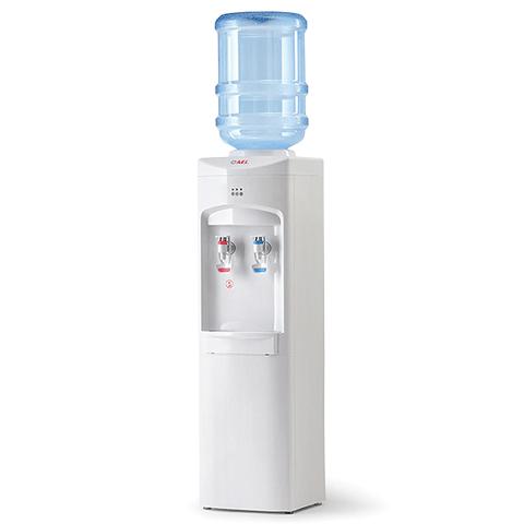"""Кулер для воды """"LC-AEL-350"""", напольный, 2 крана, белый"""