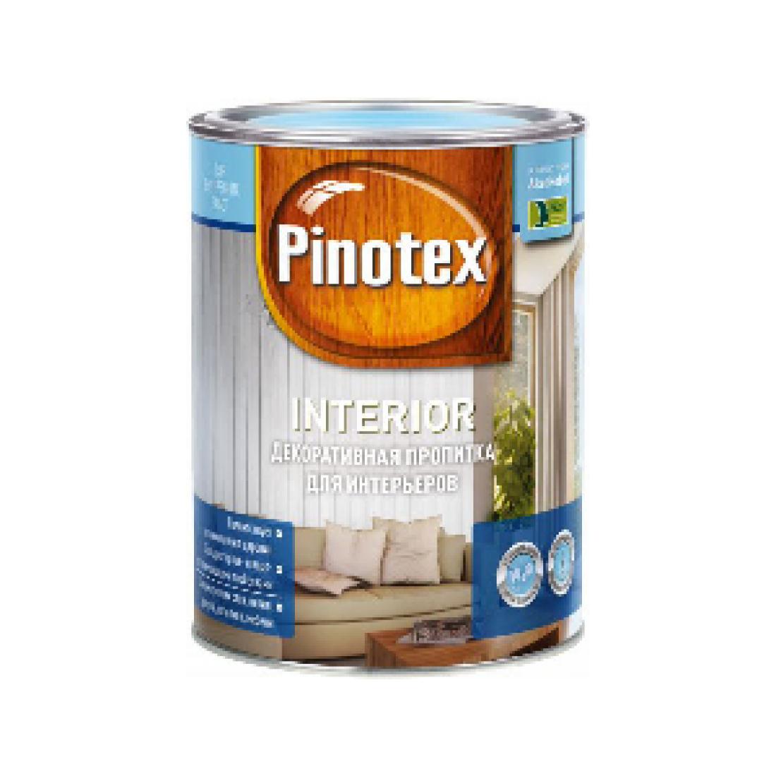 PINOTEX INTERIOR антисептик, экологичный, в р, бесцветный (1л)