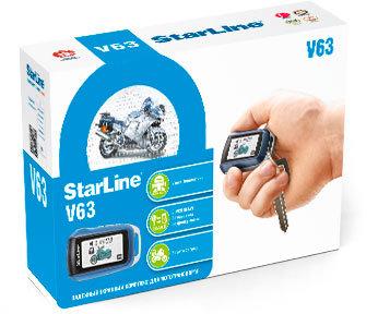 Сигнализации Сигнализация для мототехники StarLine MOTO V63