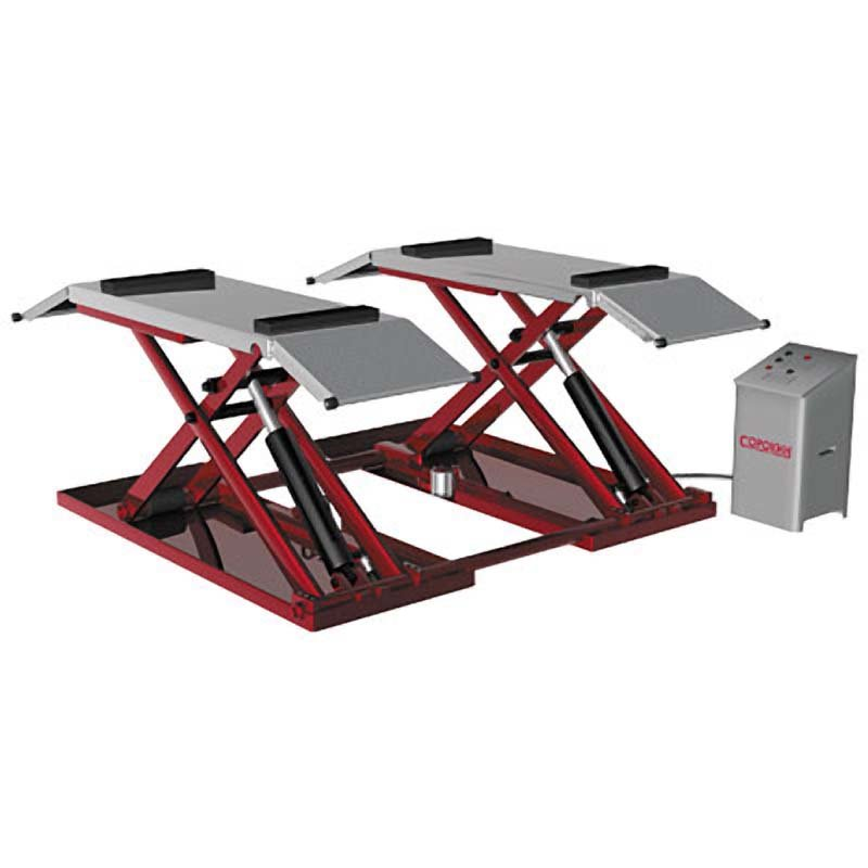 Подъемник автомобильный Сорокин Подъёмник ножничный для шиномонтажа 3т, 380V (120-1000мм)