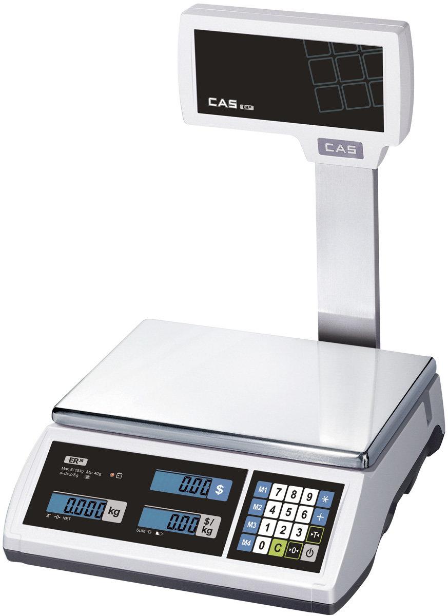 Весы торговые Cas ER-Jr-30CB U