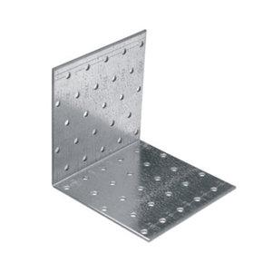 Крепежный уголок равносторонний KUR, 2 мм (80x80x60 мм)