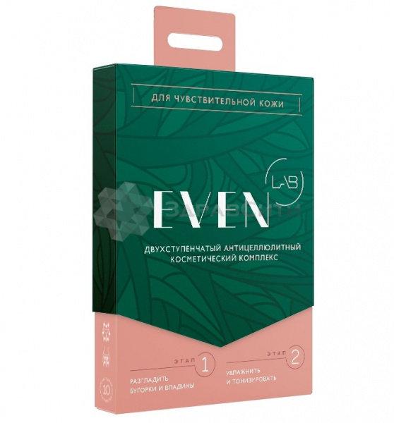 Ивен лаб (even lab) антицеллюлитный косметический комплекс для чувствительной кожи