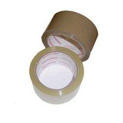Скотч клейкая лента упаковочная 48мм*45м, 40 мкр прозрачная