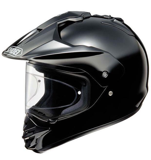 Шлемы SHOEI Шлем HORNET-DS PLAIN BLACK XXS