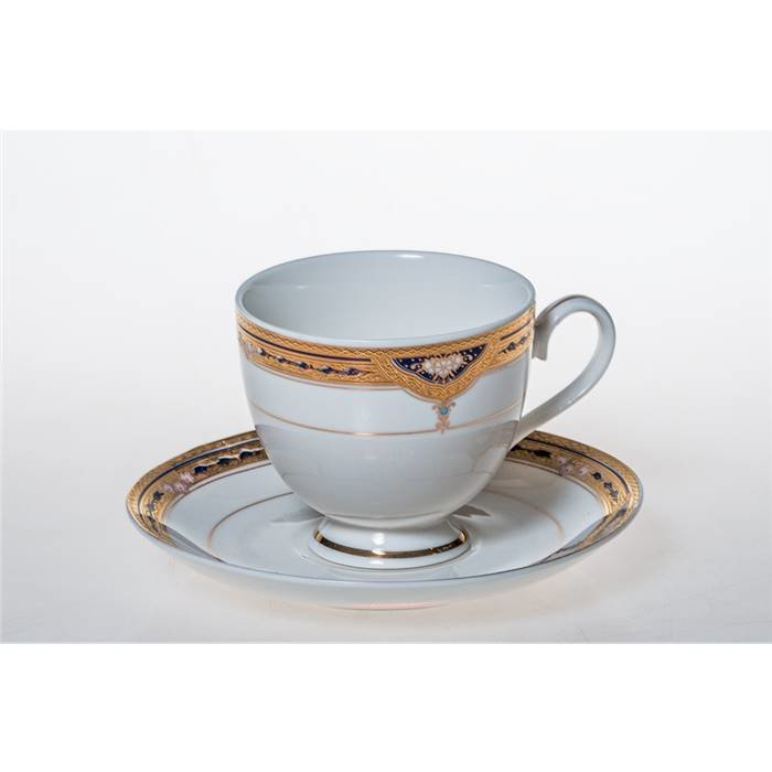 LEFARD Чайный сервиз 275-692 чайный набор на 1 персону 2 пр.200 мл. (кор=24набор.) фарфор