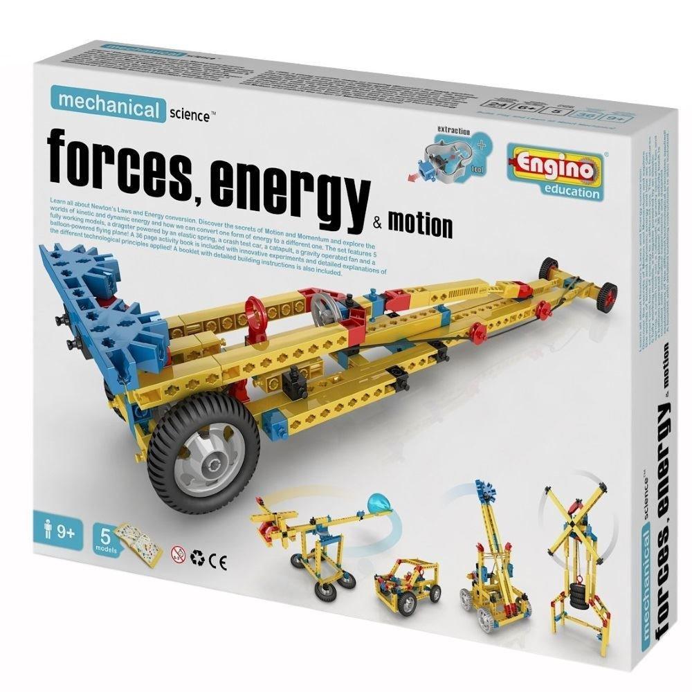 Engino Конструктор Mechanical Science Сила, энергия и движение