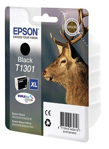Картридж EPSON T1301 для Stylus B42/SX525WD/SX620FW/BX525WD/BX625FWD/WF-7015/7515/7525 (черный)