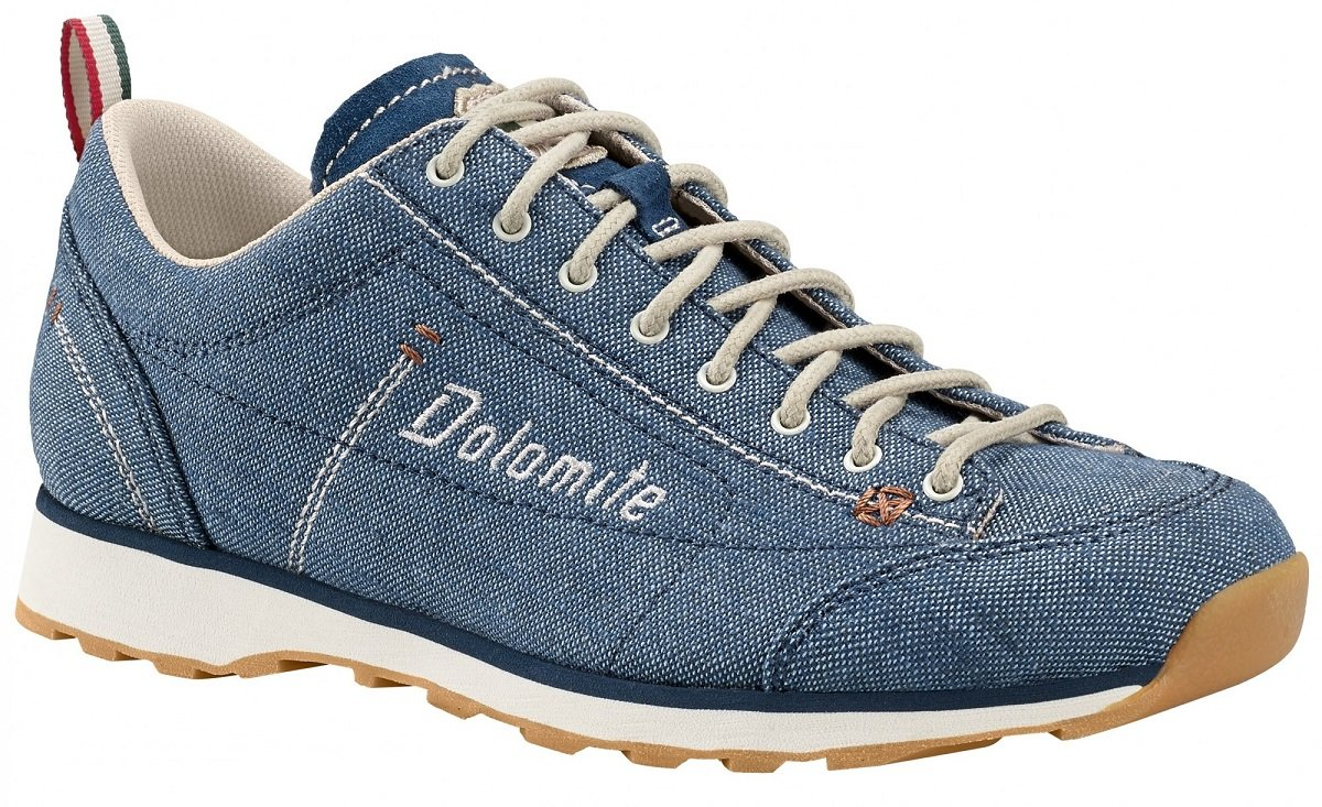Ботинки женские Dolomite Cinquantaquattro Lh Canvas Denim Blue/Canapa Beige