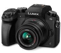 Фотоаппарат со сменной оптикой PANASONIC Lumix DMC-G7 Kit 14-42mm черный