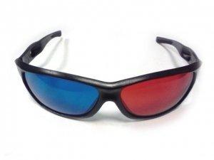 Анаглифные 3D-стерео очки Virtual 1 (красный/синий)