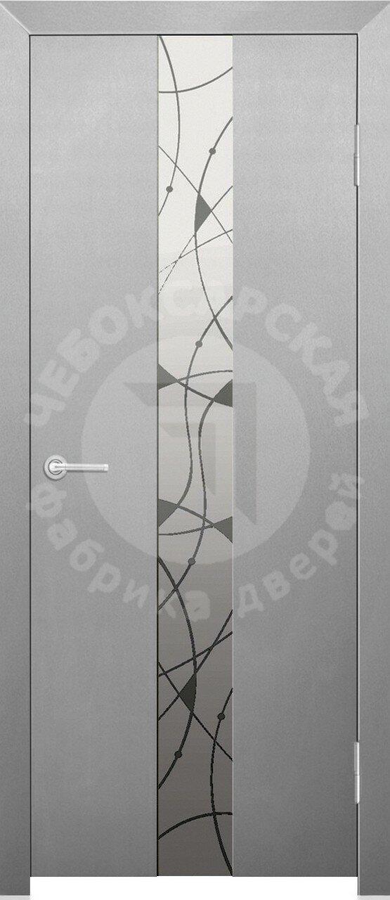 Чебоксарские двери ЧФД Экзотика стекло
