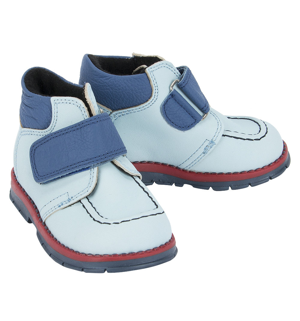 Ботинки Таши Орто цвет: голубой/синий