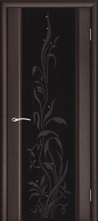 Межкомнатные двери Ульяновские Двери Ульяновские Двери Модель Эксклюзив Венге со стеклом Триплекс 2
