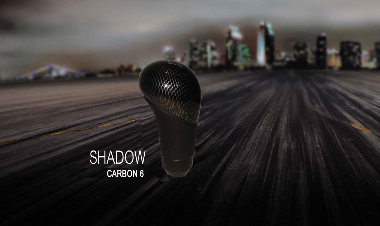 Ручка кпп momo (момо) Shadow Carbon 6 ступка