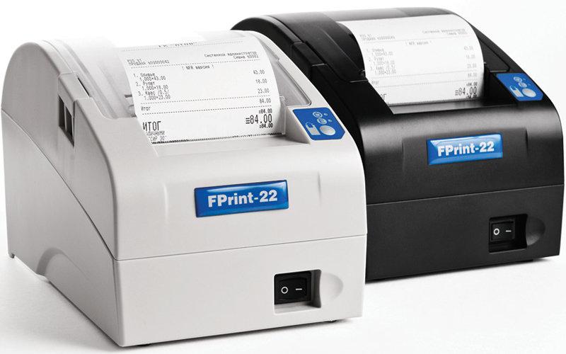 Принтер документов FPrint-22 для плательщиков ЕНВД