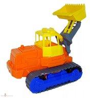 Гусеничный трактор-погрузчик игрушечный 44 см Полесье П-7377