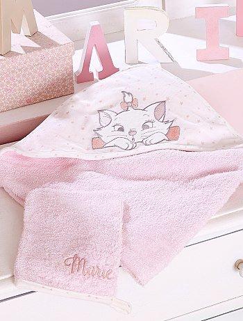 Полотенце-накидка+ махровая банная рукавица 'Мари' KIABI