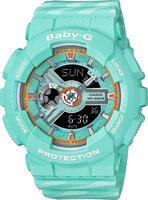 Японские наручные часы Casio Baby-G BA-110CH-3A с хронографом