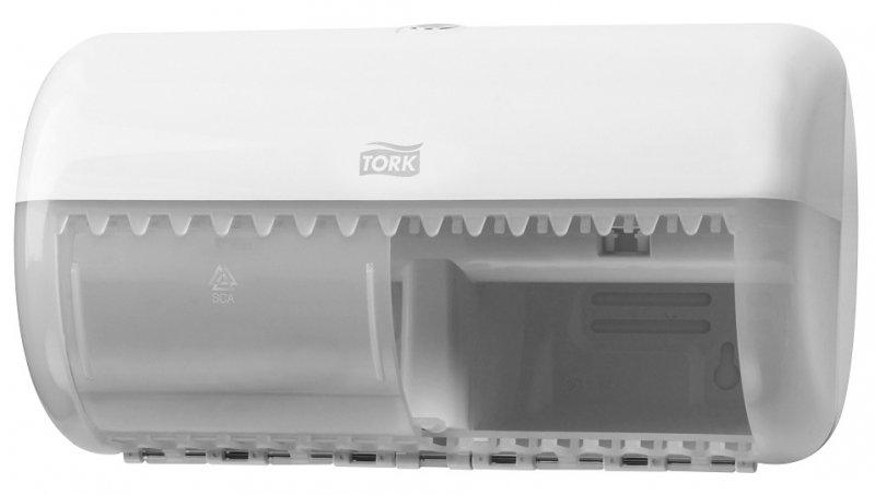Диспенсер для туалетной бумаги TORK 557000, для стандартных рулонов, белый, T4