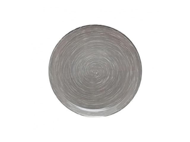 тарелка luminarc стоунмания грей 20см дес. стекло