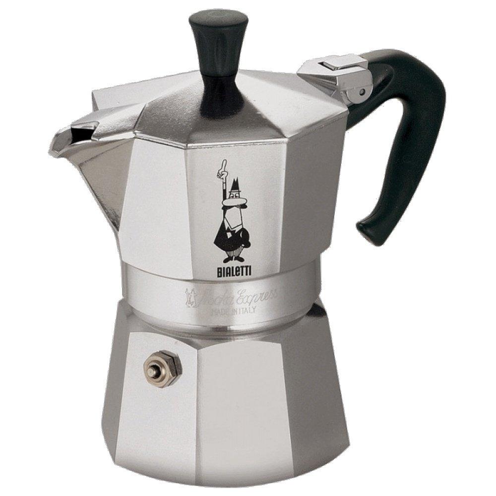 Кофеварка гейзерная Bialetti Moka Express Silver 3