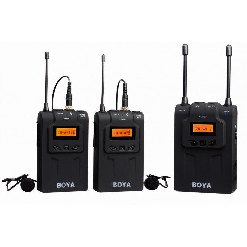 Петличный радио микрофон Boya BY-WM8