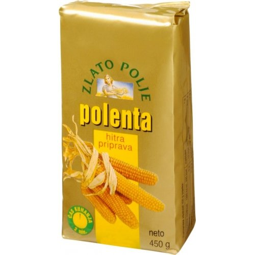 Крупа кукурузная Полента - ZLATO POLJE