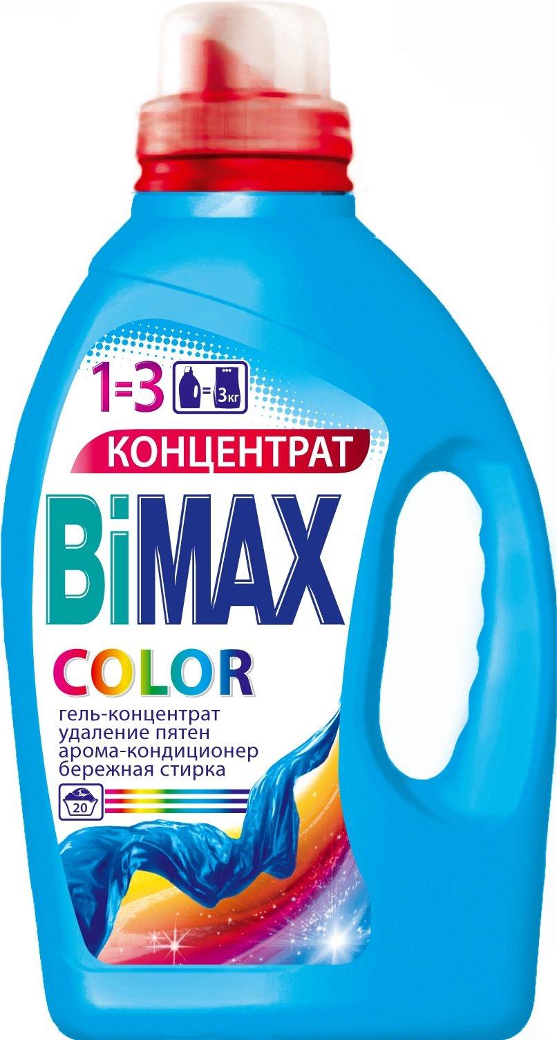 Гель для стирки «Color» Bimax, 1.5 л