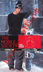 Мужское термобельё Sensi The Mobile Society Maglia M/L (manica lunga) merino uomo футболка мужская с длинным рукавом из лёгкой мериносовой шерсти M, Серый