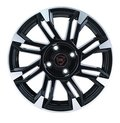 Диски R16 5x108 6,5J ET50 D63,3 NZ Wheels F-8 BKPS - фото 1