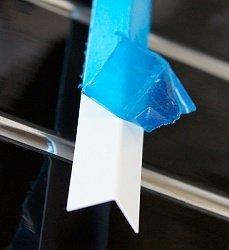 Угол отделочный ПВХ Пласт Декор белый в защитной пленке белый 15х15, 3м