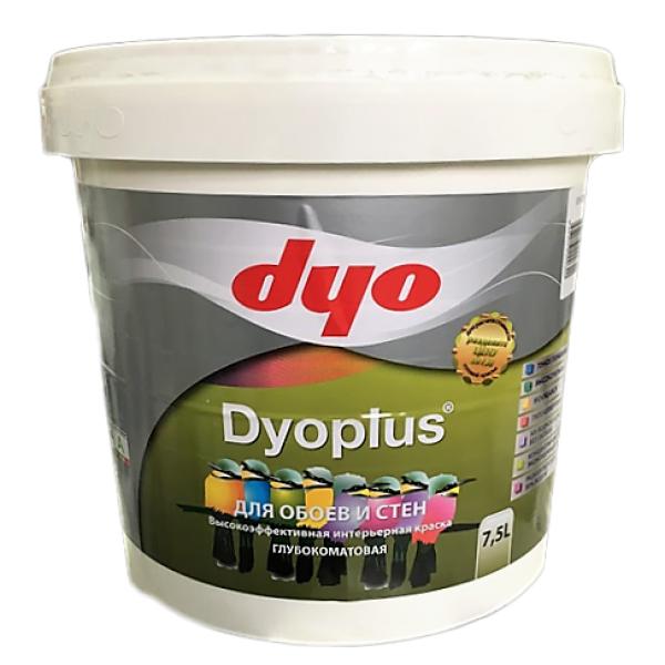 Dyo Dyoplus - Интерьерная водоэмульсионная латексная, моющаяся краска