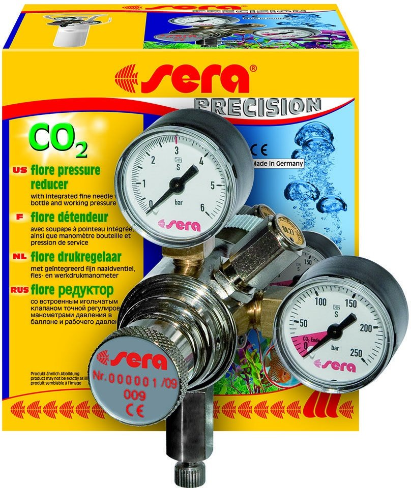 Редуктор Sera Flore CO2 Pressure Reducer для баллонов СО2 Flore (1 шт)