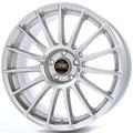 Диски OZ Superturismo LM 7.5x17 ET45 5x114.3 d75 Matt Race Silver Black Lettering - фото 1