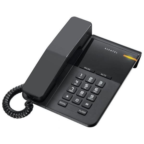 Проводной телефон Alcatel T22 черный