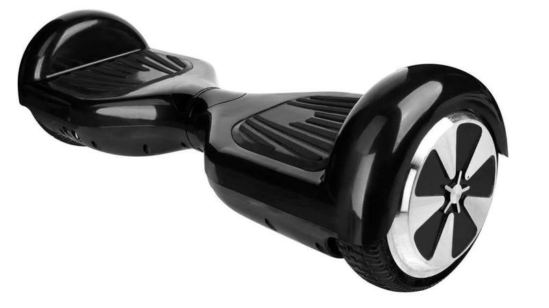 Гироцикл SKRUER Double line (черный) без пульта