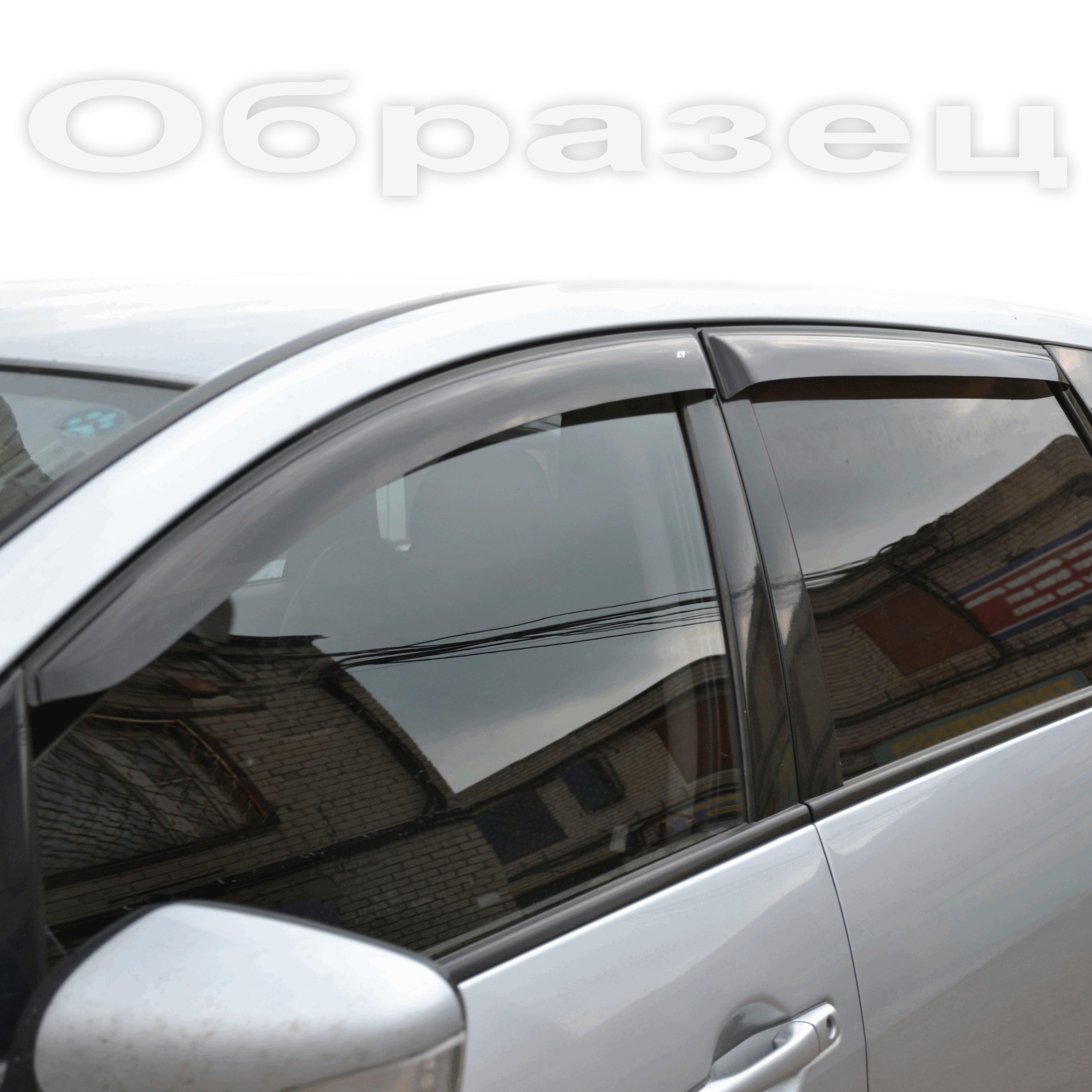 Дефлекторы окон Volkswagen Crafter 2006-, ветровики накладные