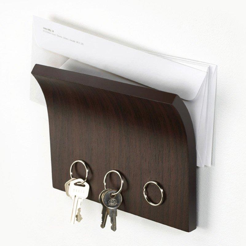 Держатель для ключей и писем UMBRA Magnetter эспрессо