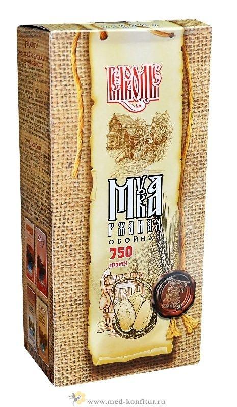 Мука ржаная по-старорусски (обойная) 750 гр