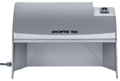 Детектор банкнот просмотровый DORS 60 (серый) SYS-033277 Виды детекции:Ультрафиолетовая