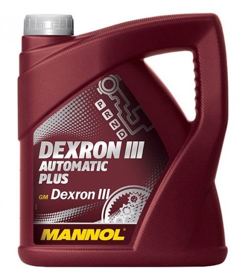 Масло трансмиссионное Mannol ATF Plus DEXRON III 4л